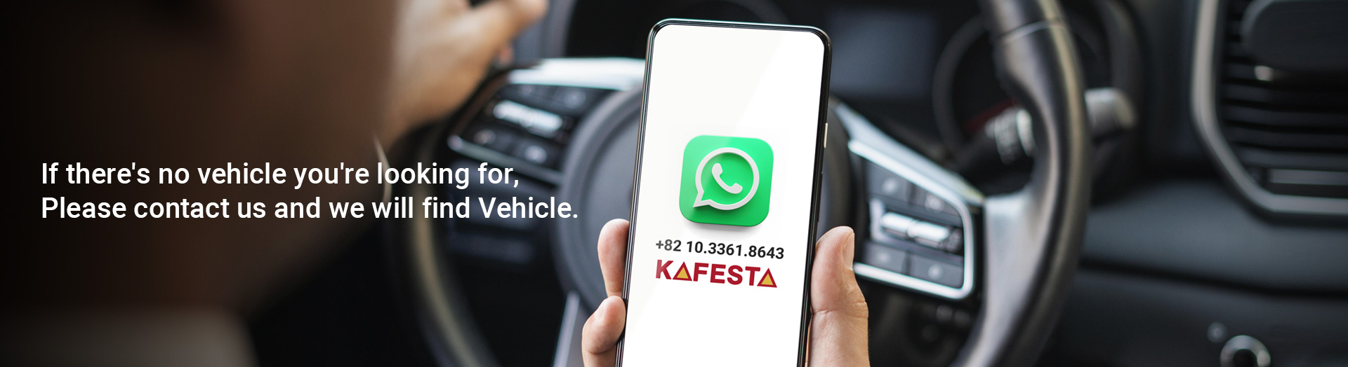 https://www.kafesta.com/Please contact us and we will find Vehicle.